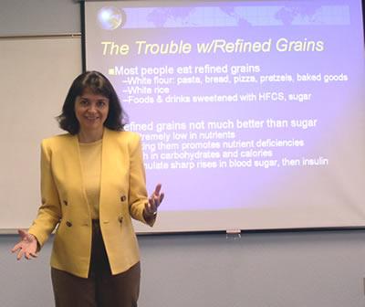 Melissa Diane Smith ontwikkelde het dieet.