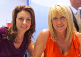 Suzy Cohen met Suzanne Somers